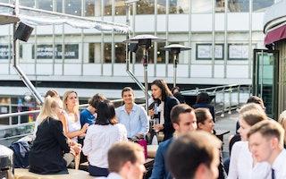 Business Konferenz Banking outdoor