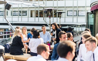 Business Konferenz Banking outdoor