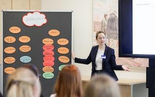 Frauenkonferenz Workshop Lebenslauf Banking