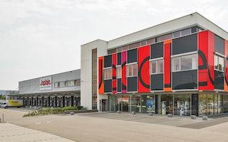 Jedele Farben und Heimtex Großhandel GmbH_Firmengebäude