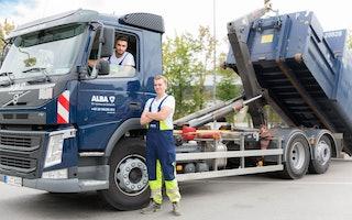 Im Auftrag der Nachhaltigkeit bist du in unseren LKWs unterwegs.
